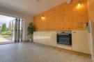 Studio apartment kitchen area