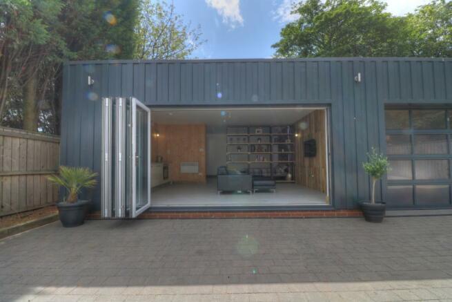 Open window to studio apartment