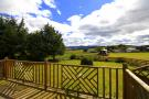 Decking and Bennachie View