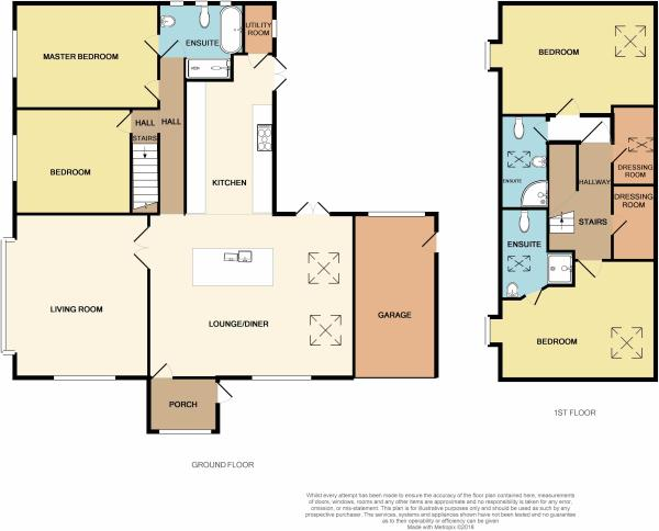 5 Woodlands Way.Floor plan