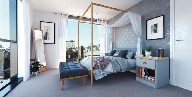 Birmingham Kent Street Bedroom
