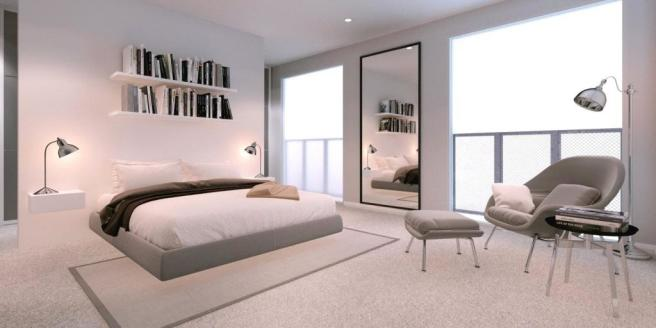 London Canterbury Lofts Bedroom (1)