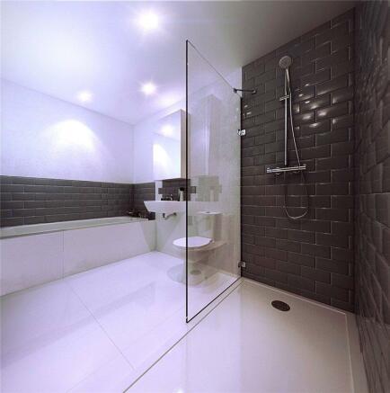London Canterbury Lofts Bathroom