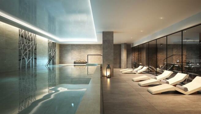 London Keybridge Lofts Pool