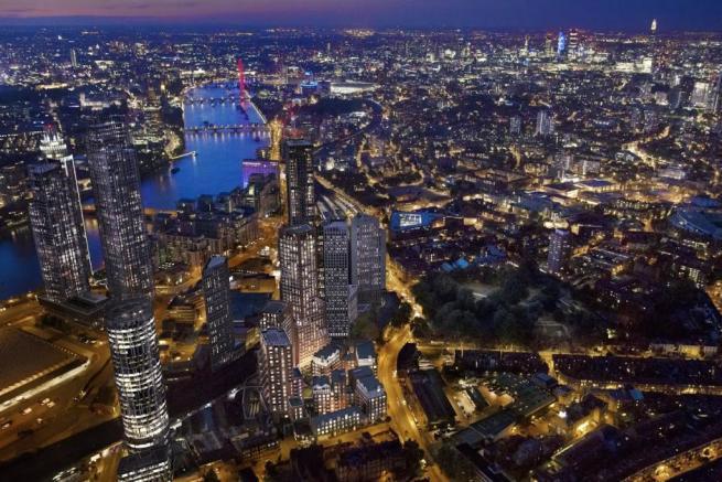London Keybridge Lofts Above