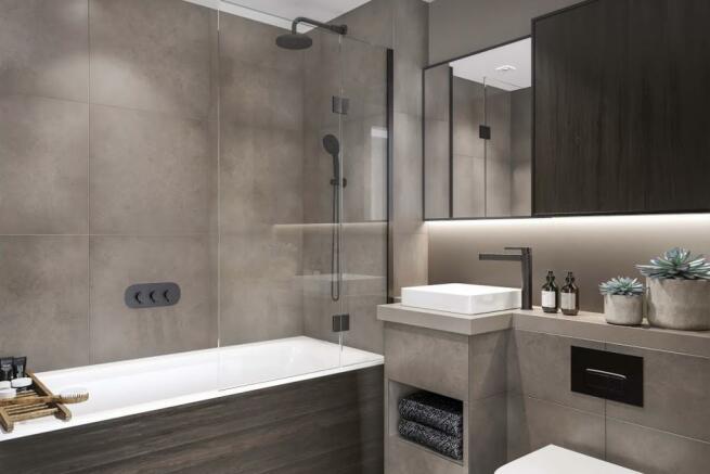 London Keybridge Lofts Bathroom ..