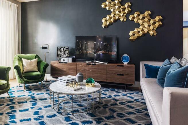 London Keybridge Lofts Living Room