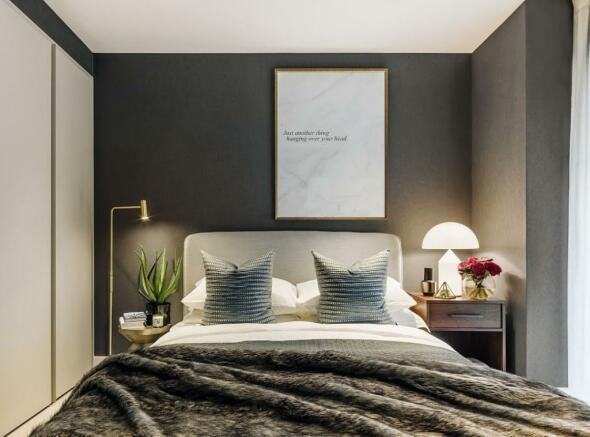London Keybridge Lofts Bedroom Two ..