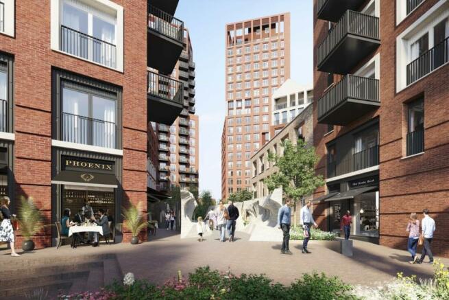London Keybridge Lofts Exterior