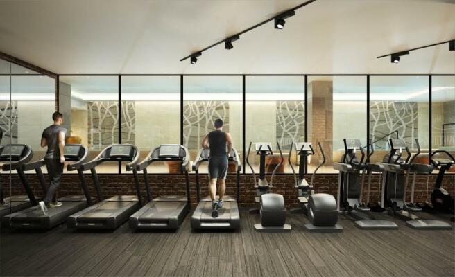 London Keybridge Lofts Gym Additional