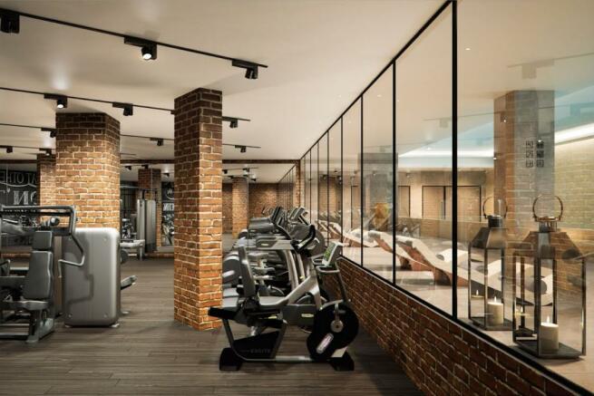 London Keybridge Lofts Gym