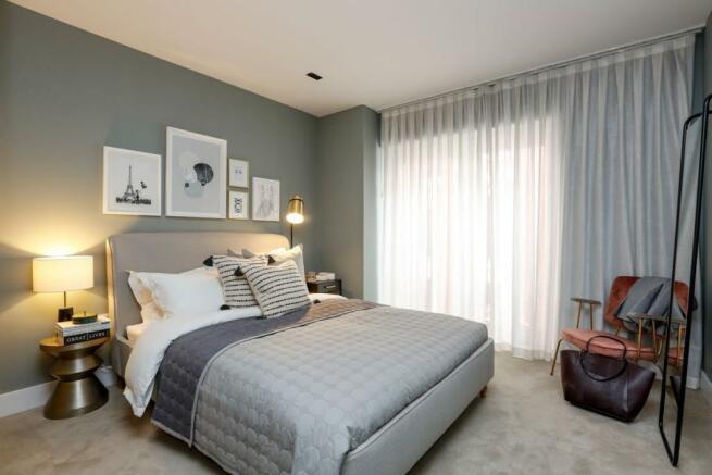 London Keybridge Lofts Bedroom (2)