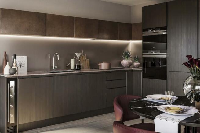London Keybridge Lofts Kitchen Additional