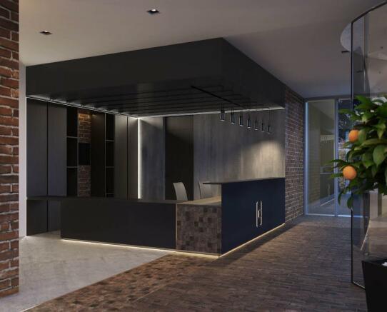 London Keybridge Lofts Reception