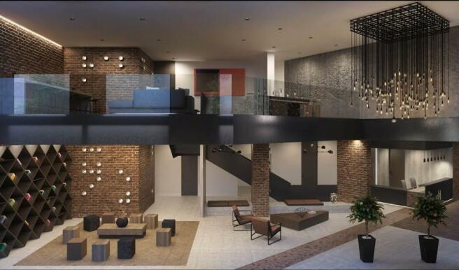 London Keybridge Lofts Mezzanine
