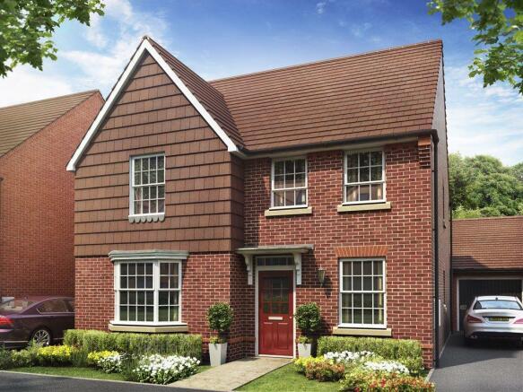 Castle Hill David Wilson Homes, Holden house type