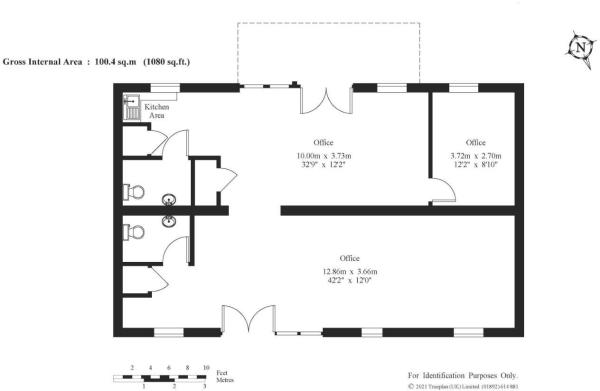 The Old Cart Shed Floor Plan
