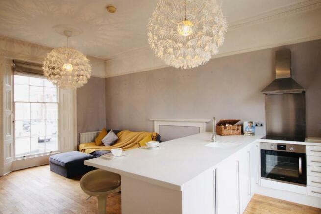 Kitchen / Living Area