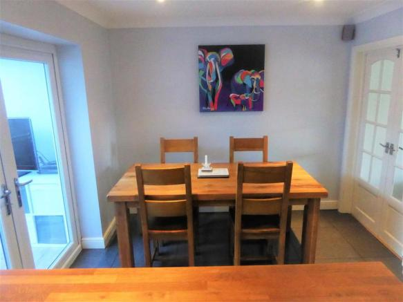 IN DINING AREA