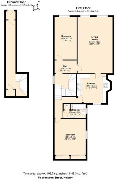 5a Wendron Street, Helston Floor plan.JPG