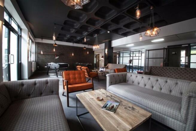 Private club lounge