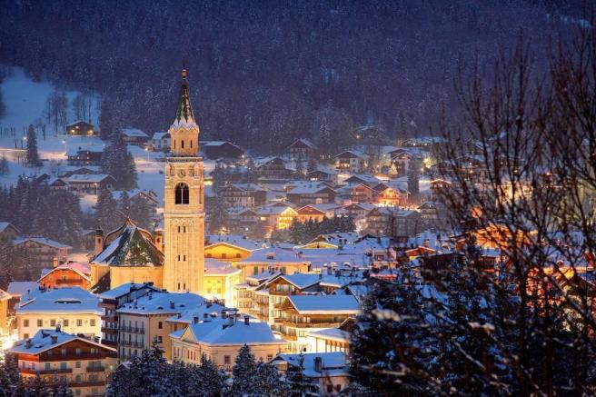 winter  in Cortina