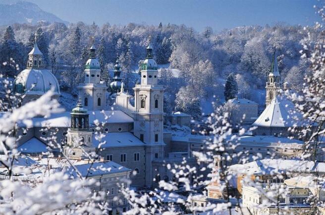 snow in Cortina