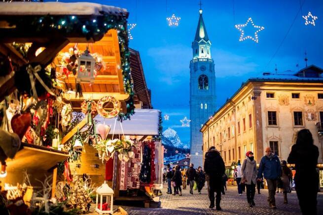 Christmas in Cortina