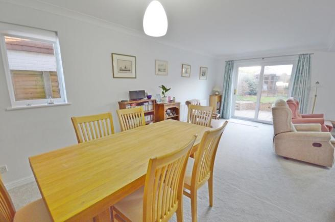 Dining area of house
