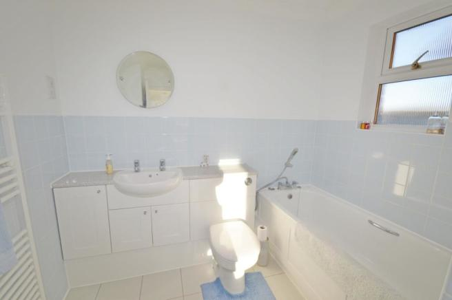 Ensuite of house to