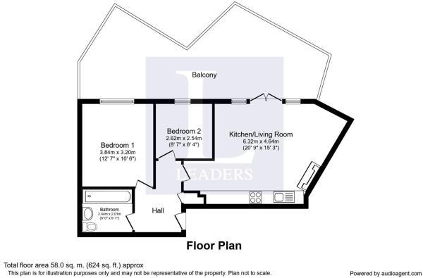Floorplan for The Ca