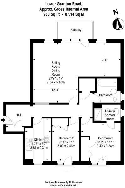 172-3 LGR Floor Plan