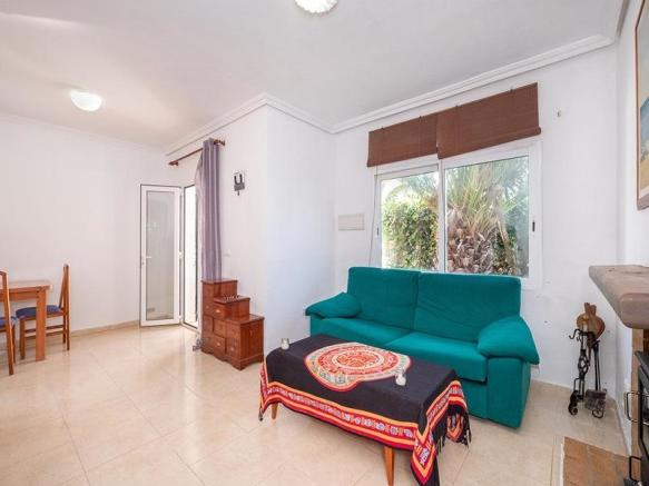 Built on two levels, with a spacious garden that borders the open countryside, providing total privacy.
