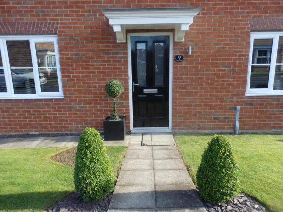 Front Garden and Driveaway