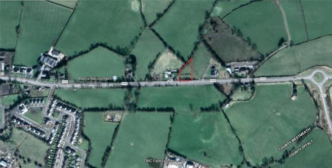 Westmeath Ireland Map.Plot For Sale In Site 1 Dublin Road Moate Co Westmeath Ireland