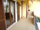 Terraced balcony