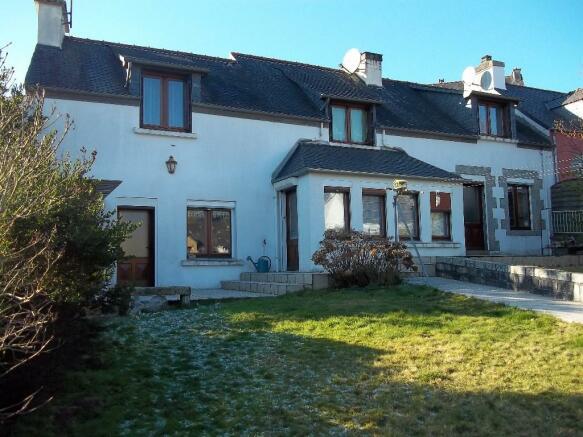 2 Bedroom Village House For Sale In Huelgoat Finist 232 Re