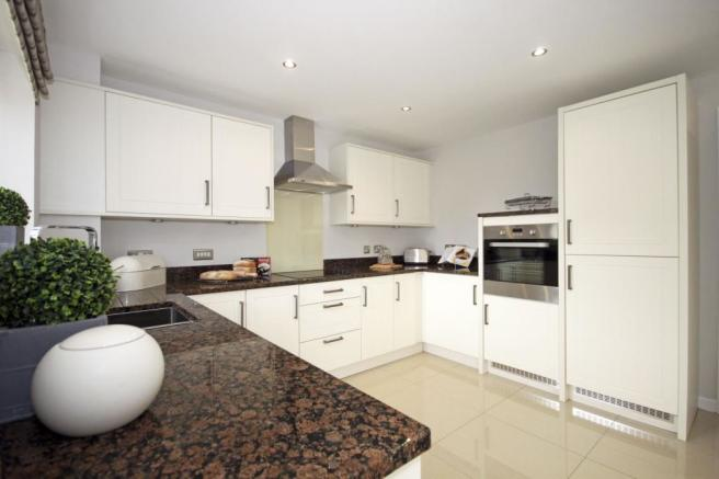Typical Guisborough fitted kitchen