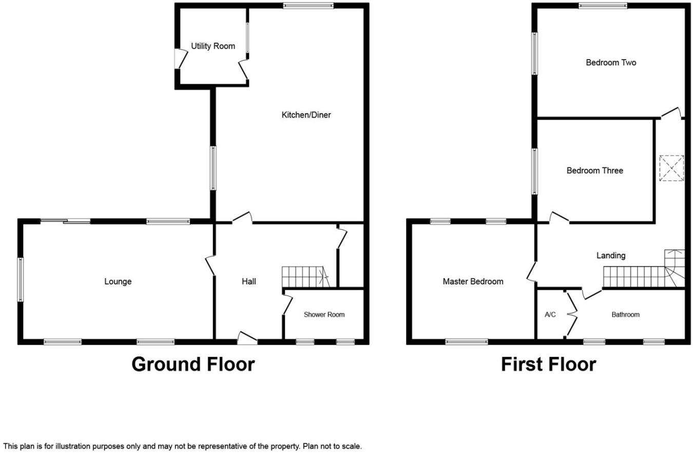 3 Bedroom House For Sale In Nethergate Nafferton Driffield Yo25 Doubleglazingdiagram01jpg