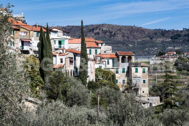 Torrazza village