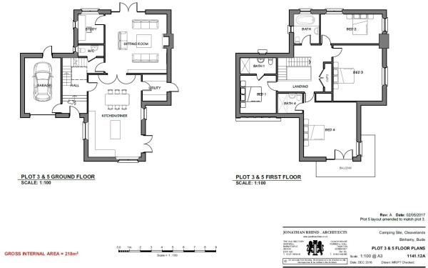 Plot 3 & 5 Floorplan