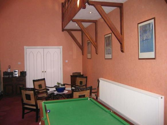 Formal Dining/Games Room: