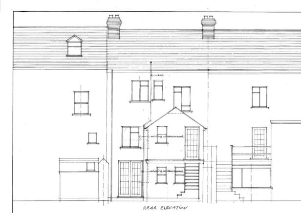Proposed rear ext...
