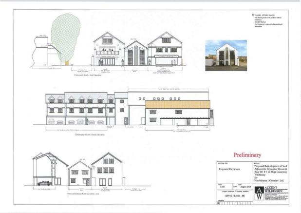 front elevation (proposed)