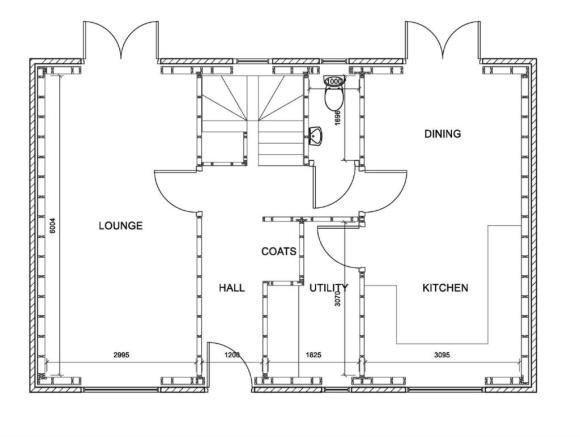 4 Bed Ground Floor