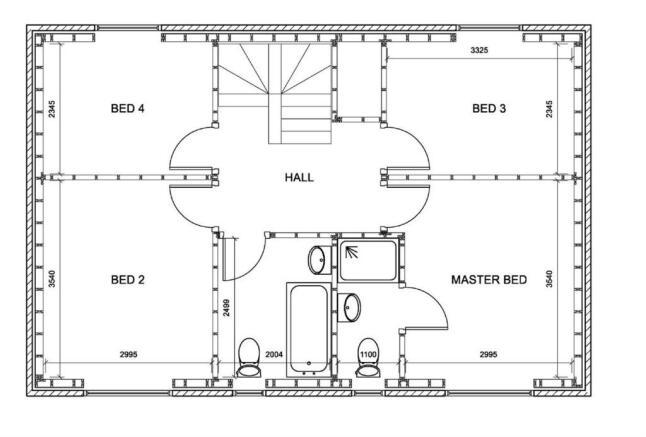 4 Bed First Floor