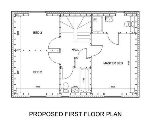 3 Bed First Floor