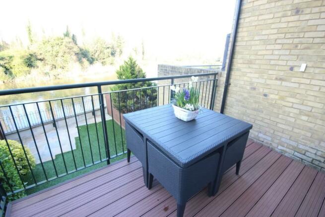 Sitting room balcony
