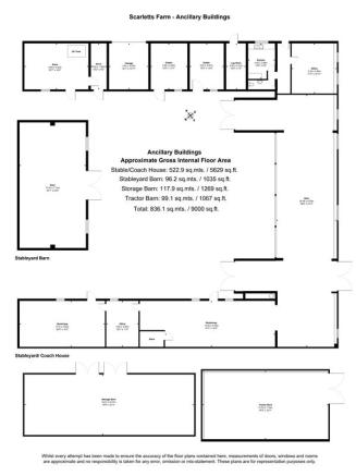 Barns floor plan