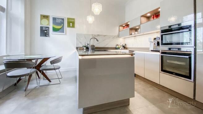 Dining kitchen.